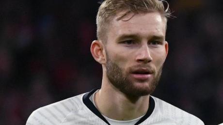 Hat seinen Vertrag bei RB Leipzig vorzeitig verlängert: Konrad Laimer.