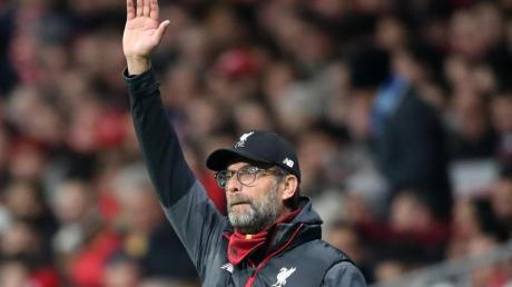 Kassierte mit dem FC Liverpool einen Niederlage bei Atlético: Trainer Jürgen Klopp.