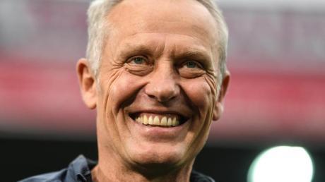 Schaut dem Spiel von BVB-Neuzugang Erling Haaland gerne zu: Freiburgs Trainer Christian Streich.