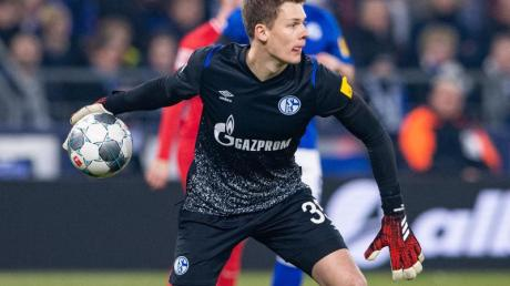 Bleibt nach dem Willen des Trainers im Schalke-Tor: Alexander Nübel.