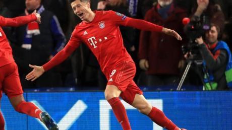 Hat sich beim Spiel gegen den FC Chelsea verletzt: Robert Lewandowski.