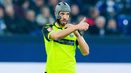 Mit Paderborn momentan Liga-Schlusslicht: Kapitän Klaus Gjasula.