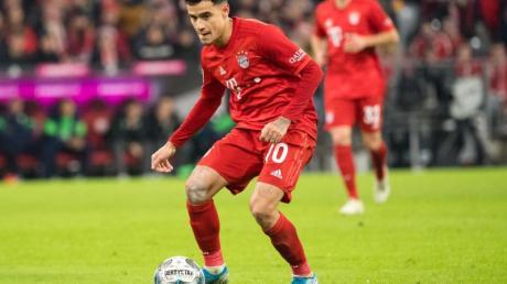 Darf in Hoffenheim von Beginn ran: Bayern-Profi Philippe Coutinho.