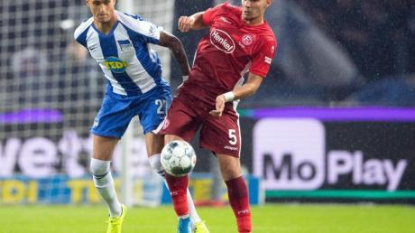 Zum Auftakt des 24. Spieltages der Fußball-Bundesliga tritt Hertha BSC bei Fortuna Düsseldorf an.
