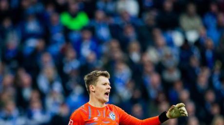 Hat weiter das Vertrauen von Trainer David Wagner: Schalkes Torwart Alexander Nübel.