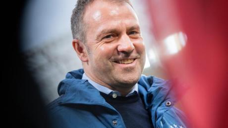Trainer Hansi Flick konnte sich beim 6:0 gegen Hoffenheim über den höchsten Saisonsieg der Bayern freuen.