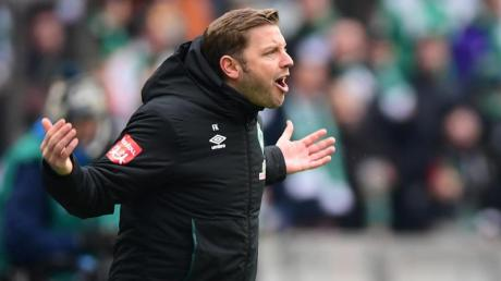 Kämpferisch: Werder-Coach Florian Kohfeldt.