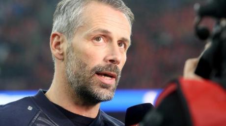 Hofft auf eine planmäßige Beendigung der Bundesliga-Saison: Gladbach-Coach Marco Rose.