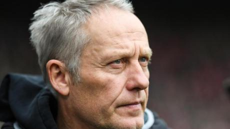 Freiburgs Trainer, Christian Streich.