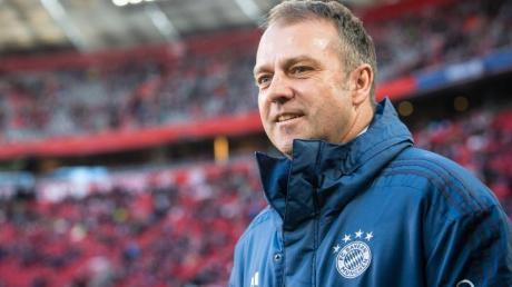 Trainer Hansi Flick könnte schon bald seinen Vertrag beim FC Bayern München verlängern.