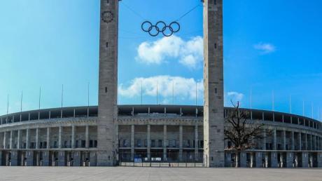Im Olympiastadion gibt es derzeit keine Veranstaltungen.