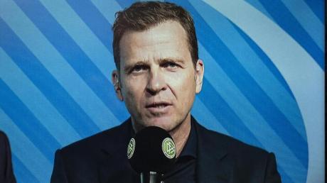 Ist bereit auf einen Teil seines Gehalts zu verzichten: DFB-Direktor Oliver Bierhoff nimmt an einer Video-Pressekonferenz des DFB teil.