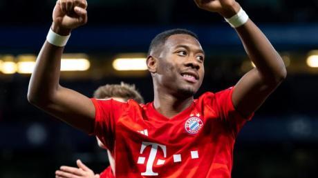 David Alaba fühlt sich beim FC Bayern wohl.