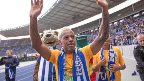 Liebling der Fans: Marcelinho hatte von 2001 bis 2006 bei Hertha BSC gespielt.