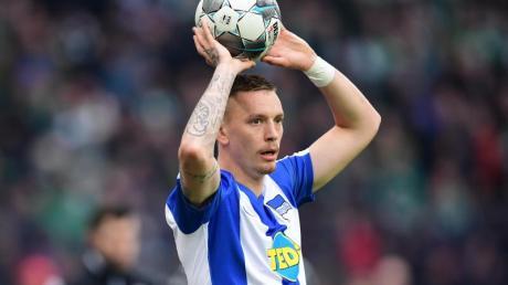 Kämpft daheim in der Quarantäne auch gegen die Eintönigkeit:Marius Wolf von Hertha BSC.