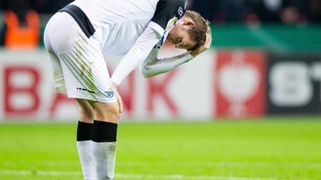 Paderborns Luca Kilian hatte sich mit dem Coronavirus infiziert.
