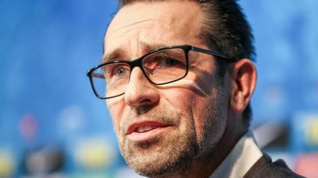 Michael Preetz ist der Geschäftsführer von Hertha BSC.