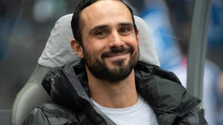Trainer Alexander Nouri wird die Hertha nach der Saison verlassen.