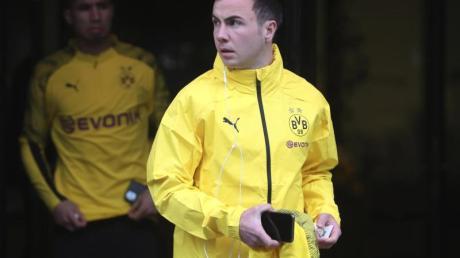 Mario Götze steht derzeit noch beim BVB unter Vertrag.