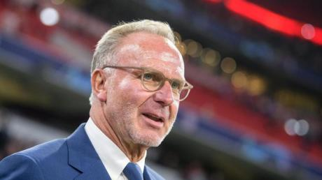 Schiebt den Wechselgerüchten von David Alaba einen Riegel vor: Bayern-Boss Karl-Heinz Rummenigge.