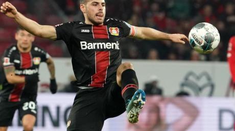 Der Leverkusener Kevin Volland möchte bald auf den Platz zurückkehren.