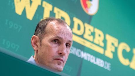 Will das Beste aus der Situation machen: Der neue Augsburger Trainer Heiko Herrlich.