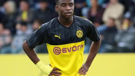 Borussia Dortmunds Youssoufa Moukoko gilt als Supertalent.