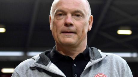 Uwe Rösler ist der Trainer von Fortuna Düsseldorf.