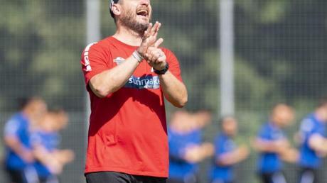 Findet die Arbeit am Ball wichtig: Paderborns Trainer Steffen Baumgart.