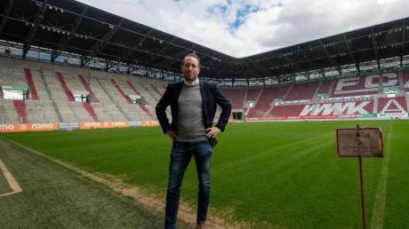 Michael Ströll, Geschäftsführer des FC Augsburg.