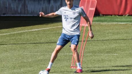 Aktuell noch Alleinunterhalter im Bayern-Angriff: Torjäger Robert Lewandowski.