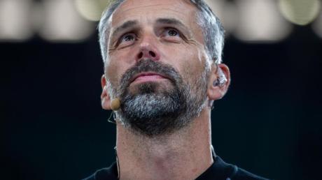 Hat entschieden, dass Gott Teil seines Lebens sein soll:Mönchengladbachs Trainer Marco Rose.
