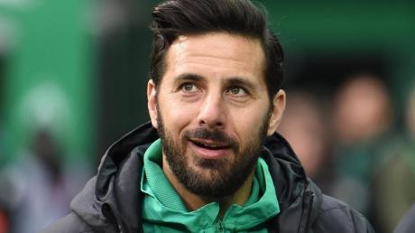 Beschäftigt sich derzeit nicht mit seinem Karriereende: Werder-Angreifer Claudio Pizarro.
