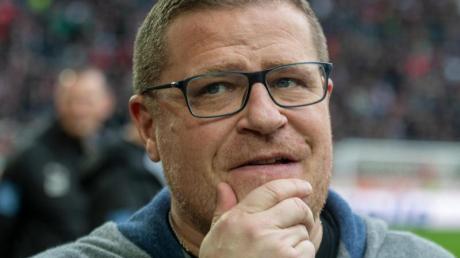 Max Eberl will auf die Spieler keinen Druck ausüben.