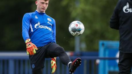 Markus Schubert wurde beim FC Schalke 04 zur Nummer 1 befördert.