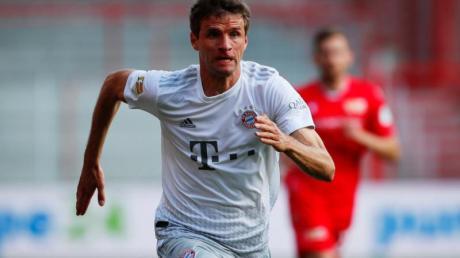 Lobt und mahnt zugleich nach dem Bundesliga-Re-Start: Bayern-Profi Thomas Müller.