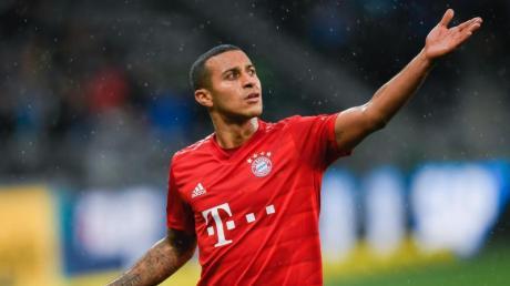 Thiago fällt wohl für die Partie des FC Bayern bei Borussia Dortmund aus.
