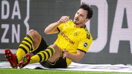 Laut BVB-Sportdirektor Michael Zorc hat Innenverteidiger Hummels momentan Beschwerden an der Achillessehne.