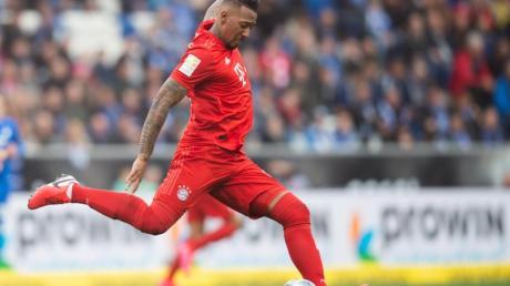 Jérôme Boateng hat sich in Bayerns Innenverteidigung aktuell den Vorzug gegenüber Rekordeinkauf Lucas Hernández erarbeitet.