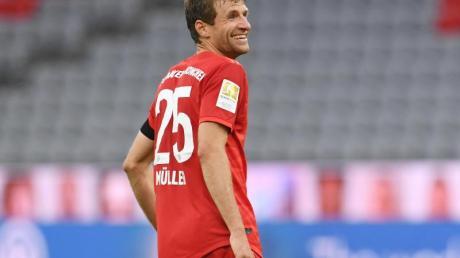 Thomas Müller freut sich auf das Duell mit dem BVB.