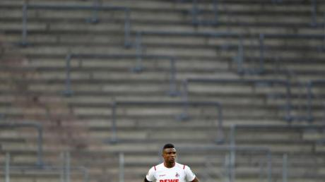 Jhon Cordoba durfte den Elfmeter für den 1. FC Köln nicht schießen.
