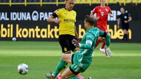 Steht in Dortmund zum 400. Mal in der Bundesliga im Tor: Bayern-Keeper Manuel Neuer.