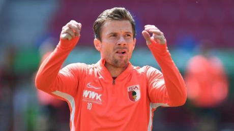 Fehlt gegen den FCKöln: Augsburgs Kapitän Daniel Baier.