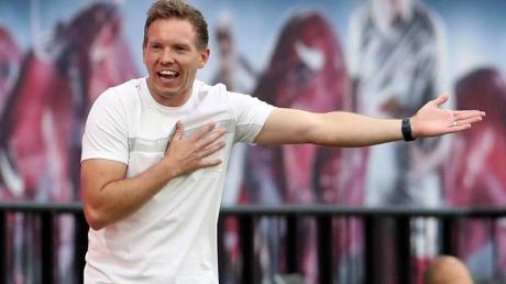 Ist mit Leipzig bei seine Ex-Club Hoffenheim gefordert: RB-Coach Julian Nagelsmann.