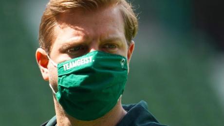 Droht mit Bremen der Abstieg:Werder-Coach Florian Kohfeldt.