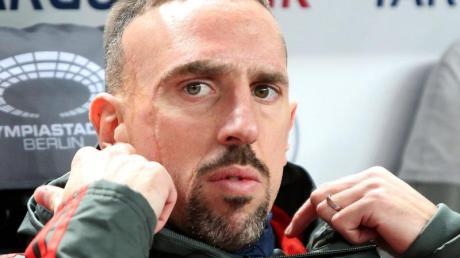 Gewann 2013 mit den Bayern dasTriple: Franck Ribéry.