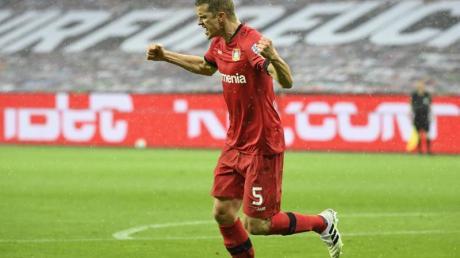 Sven Bender hat vier Bundesliga-Tore für Bayer Leverkusen erzielt: Zwei gegen Mönchengladbach und zwei gegen Köln.