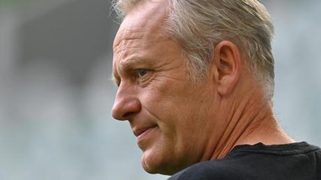 Trifft mit dem SC Freiburg auf Bayern München: Trainer Christian Streich.