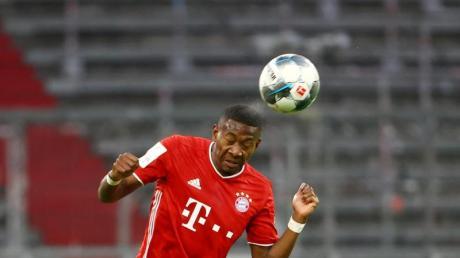 Die Bayern müssen auf David Alaba wegen schon länger anhaltender Probleme am Sprunggelenk verzichten.