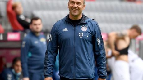 Bayerns Trainer Hansi Flick gibt seiner Mannschaft nach dem Sieg gegen Freiburg zwei Tage frei.